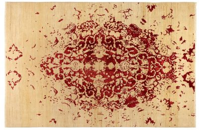 Tabriz Undyed Red